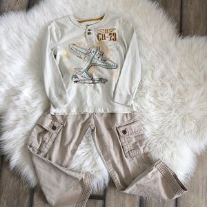 Boys Airplane Outfit Old Navy Cargo Pants